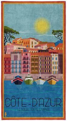 Strandtuch Riviera