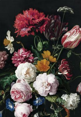 Papel pintado Golden Age Flowers