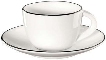 Set tazzine caffè da tavola ligne noir 8 pz