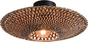 Lampa sufitowa z drewna bambusowego Bali