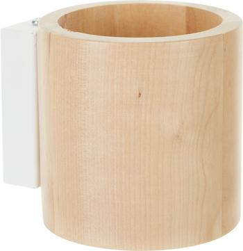 Wandlamp Roda van hout