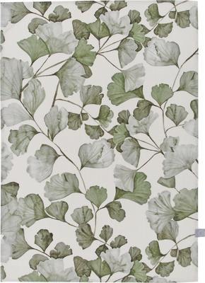 Strofinaccio in cotone con motivo foglie Gigi 2 pz