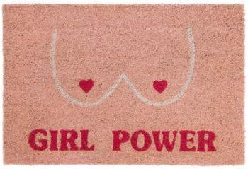 Fußmatte Girl Power