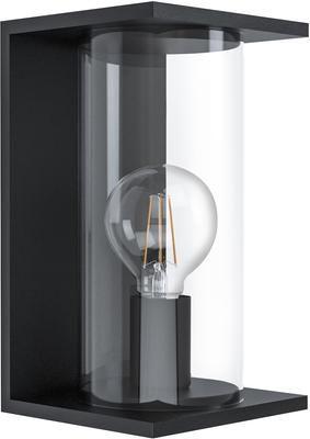 Applique da esterno con paralume in vetro Cascinetta