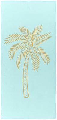 Toalla de playa ligera Palmtree