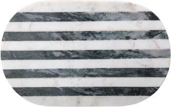 Tagliere in marmo Stripes, 37x23 cm