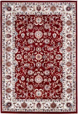 Tapis oriental rouge Isfahan