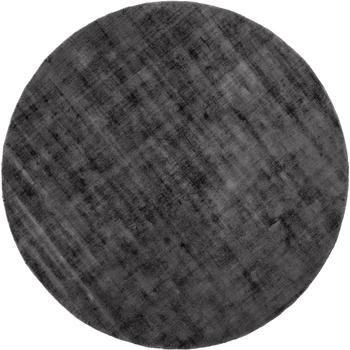 Kulatý viskózový koberec Jane, ručně tkaný