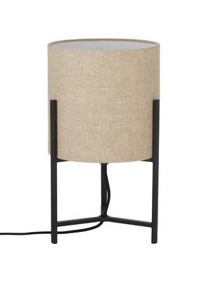 Ľanová stolová lampa Piper