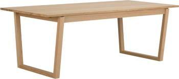 Mesa de comedor de madera de roble Colonsay