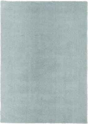 Flauschiger Hochflor-Teppich Leighton in Mintgrün