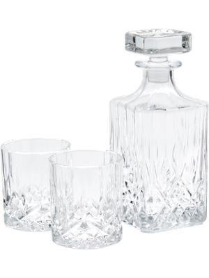 Set de whisky George, 3pzas.