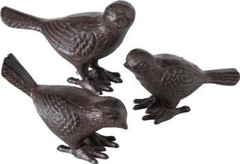 Set de figuras decorativas Oglio, 3uds.