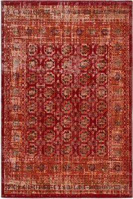 Tappeto orientale rosso/arancione da interno-esterno Tilas