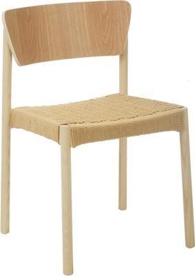 Chaise en bois Danny, 2 pièces