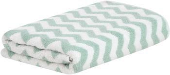 Handtuch Liv mit Zickzack-Muster