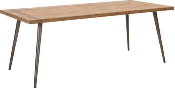 Jedálenský stôl  s doskou z masívu Kapal