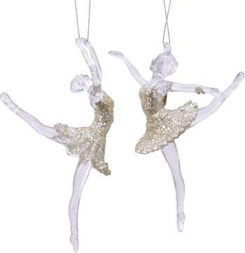 Kerstboomhangerset Ballerina (2-delig)