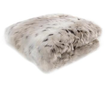 Manta de piel sintética leopardo Skins