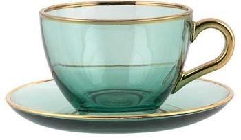 Tasse à thé artisanale Allure, 2pièces