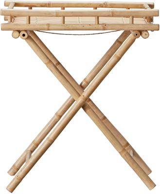 Table de jardin pliante en bambou Mandisa