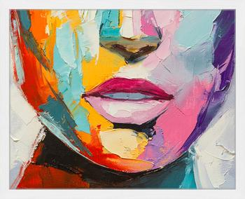Stampa digitale incorniciata Colorful Emotions