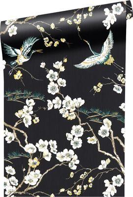 Papel pintado Japanese Flowers