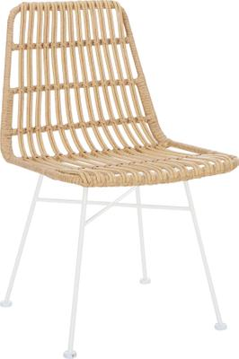Chaise polyrotin Costa, 2pièces