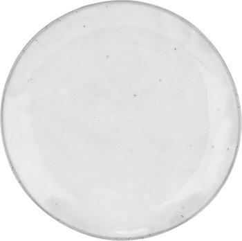 Handgemaakte ontbijtborden Nordic Sand, 4 stuks