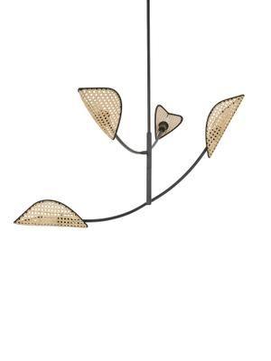 Grote hanglamp Freja van Weens vlechtwerk