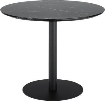 Table ronde noire Karla