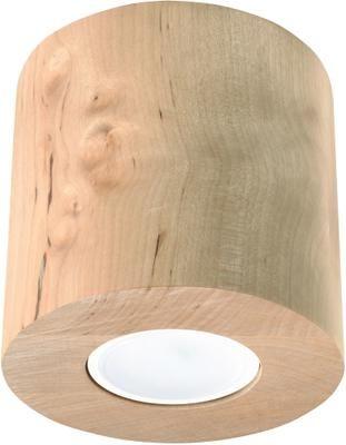 Stropná drevená lampa Roda