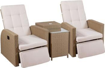 Set lounge para exterior Umbre, 4pzas.
