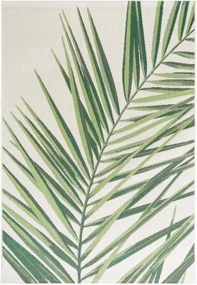 In- & Outdoor-Teppich Capri Palm mit Palmenblattmotiv
