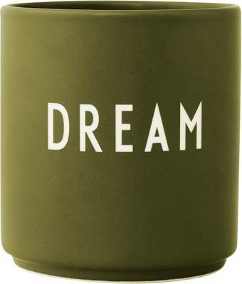 Mug design vert olive Favourite DREAM