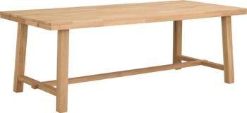 Stół rozsuwany do jadalni z blatem z litego drewna Brooklyn