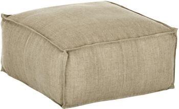 Ručně vyrobený lněný sedací polštář Saffron
