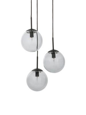 Cluster hanglamp Edie van rookglas