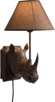 Design wandlamp Rhino met stekker