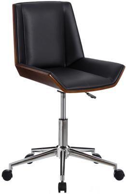 Krzesło biurowe ze sztucznej skóry Clar, obrotowe