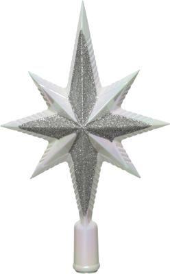 Breukvaste kerstboom piek Morning H 26 cm