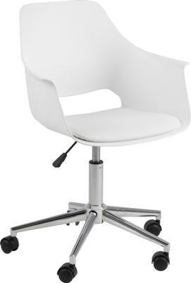 Chaise de bureau à hauteur ajustable Ramona