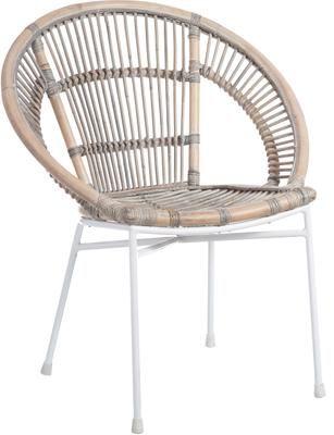Krzesło z rattanu Carla