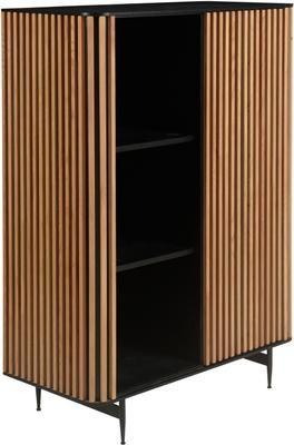Wysoka komoda z przesuwanymi drzwiami Linea