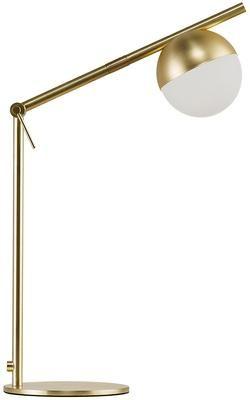 Lampa biurkowa ze szkła opalowego Contina