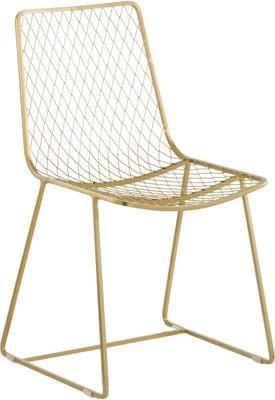 Kovová stolička Kiara