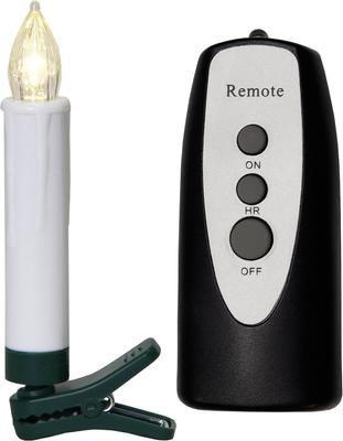 Batteriebetriebene LED-Kerze Ina, 11-tlg., warmweiß