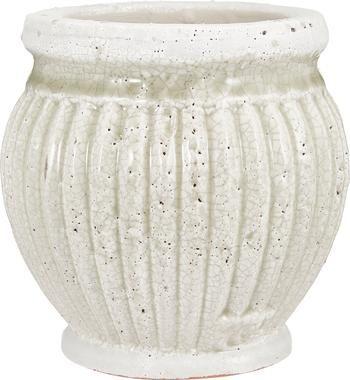Ręcznie wykonana osłonka na doniczkę z ceramiki Catinia