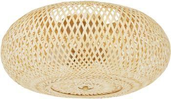 Dizajnová stropná lampa z bambusu Evelyn