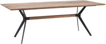 Jedálenský stôl s masívnou drevenou doskou Downtown